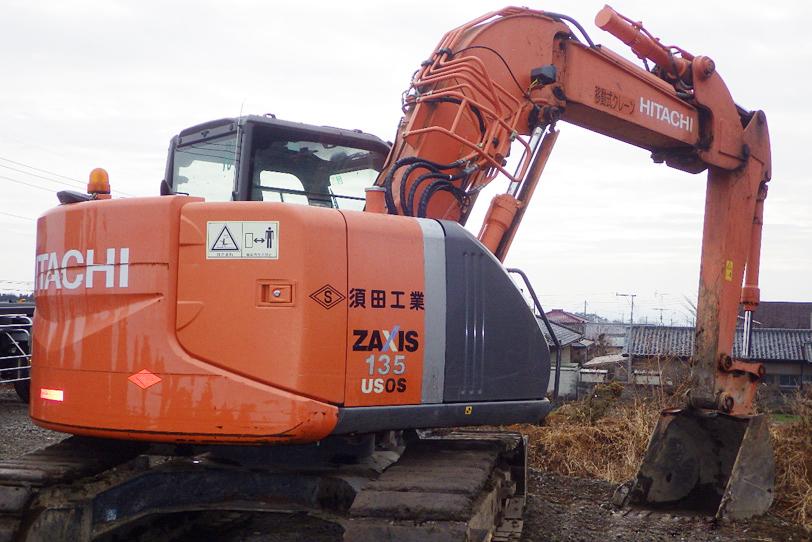 油圧ショベル(クレーン仕様) ZX135USOS-3
