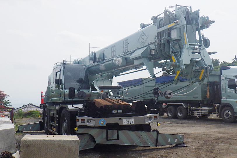 ラフテレーンクレーン GR-250N-4