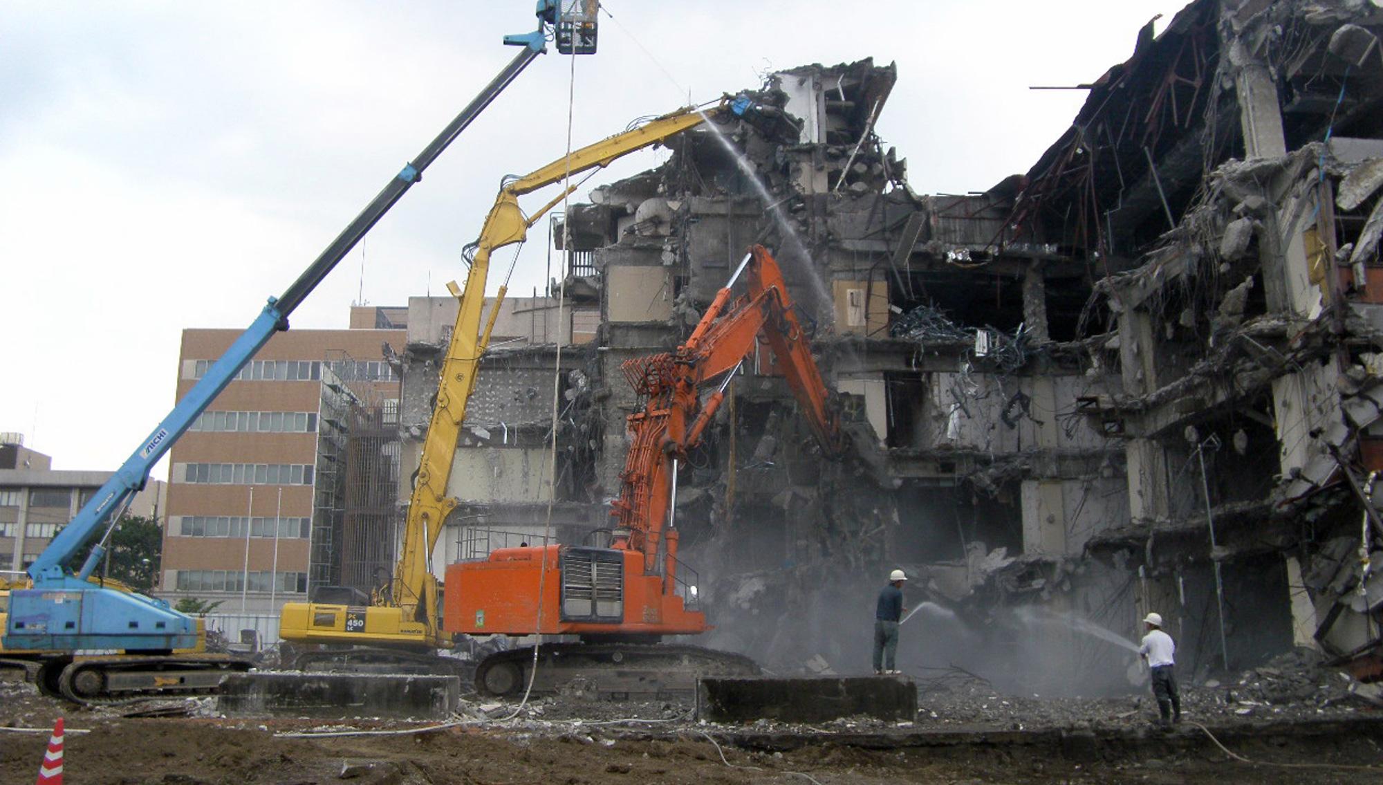 大型建物・ビルの解体