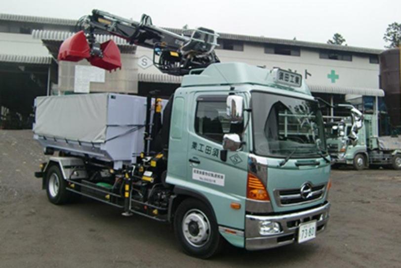 アームロール(積み込み装置付きコンテナ車)