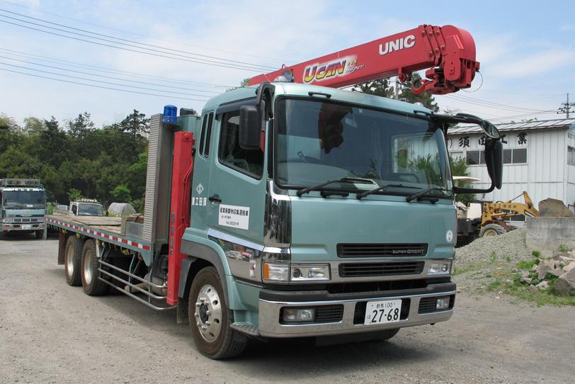 ユニック付トラック(21t)